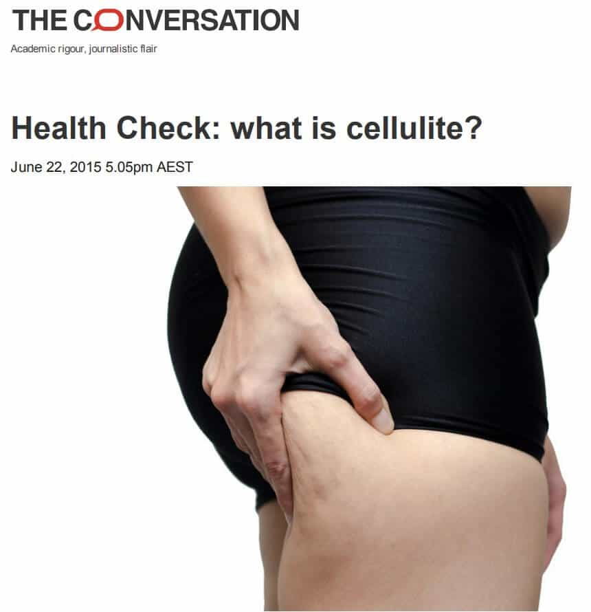 What Is Cellulite Sinclair Dermatology