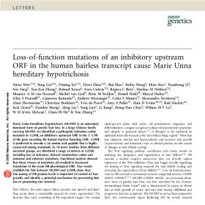 loss of function mutations